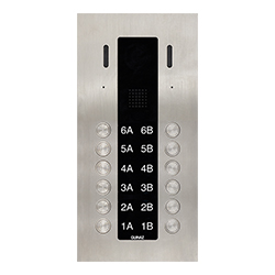 12-Button Guinaz Alea Apartment Door Station CAT5