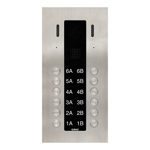 12-Button Guinaz Alea Apartment Door Station