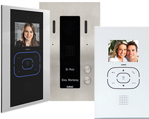 Guinaz Alea and Tactile 2-Flat Video Door Entry System