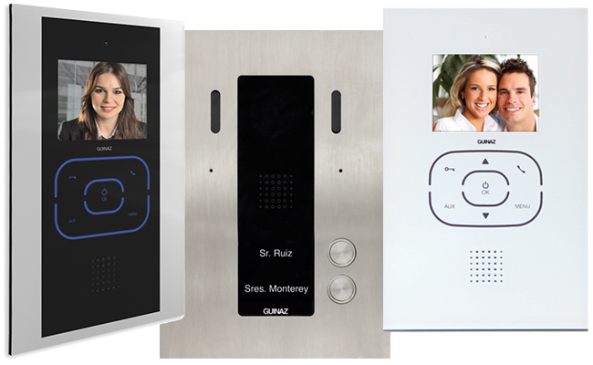 2 Apartments Door Entry System Alea And Tactile Complete Kit