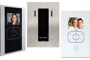 Guinaz Alea and Tactile Video Door Entry System Bespoke