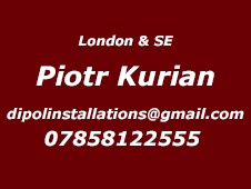 London and South East Installer Piotr 07858122555