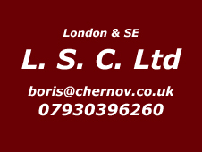 London and South East Installer Boris 07930396260