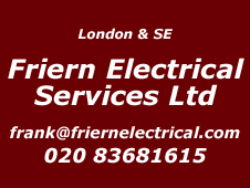 London and SE Installer Friern Electrical Services Ltd 020 83681615
