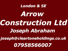 London and South East Installer Arrow Construction 07958 566007
