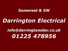 Somerset Installer Darrington Electrical 01225 478956
