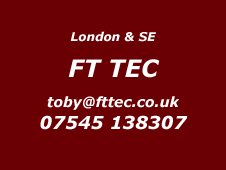 London and South East Installer FT TEC 07545 138307