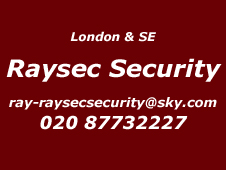 London and South East Installer Raysec Security 020 87732227