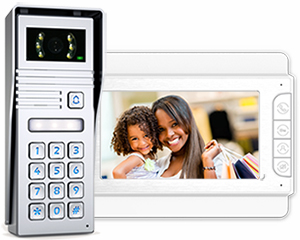 Jade 1-Monitor Video Door Entry Keypad Surface