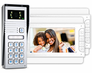 Jade 2-Monitor Video Door Entry Keypad Surface
